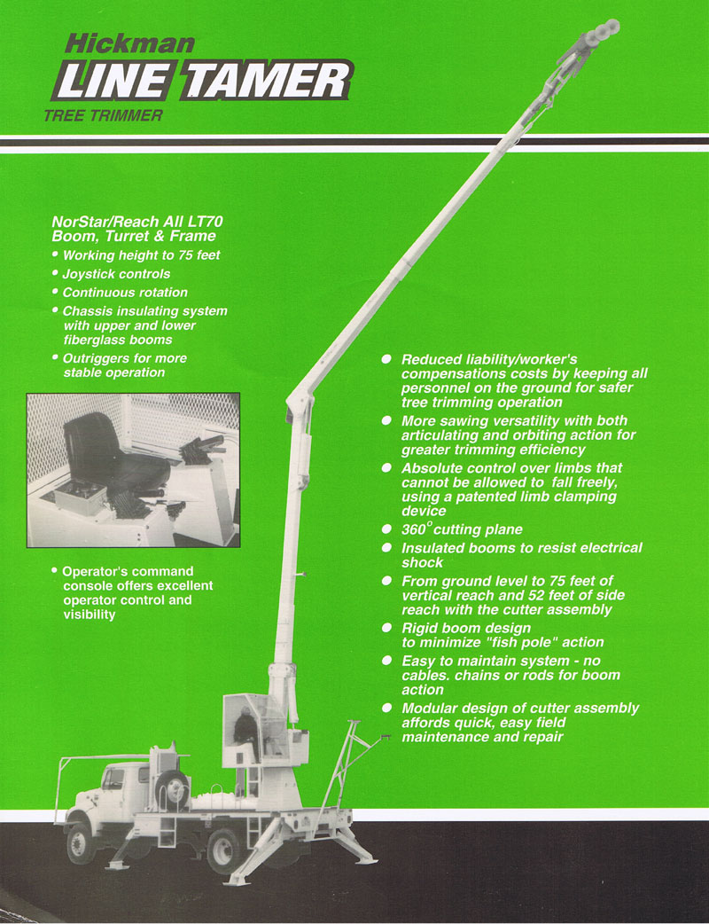 Mechanical Tree Trimmer
