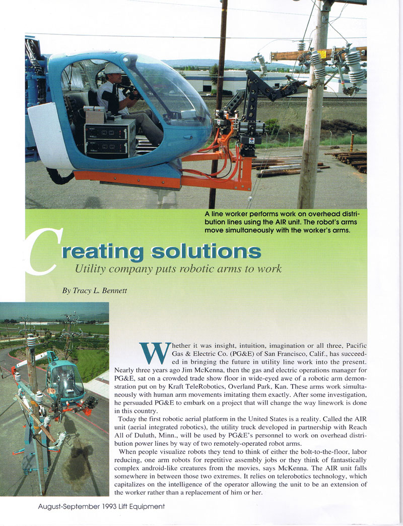 Robotic Arm Aerial